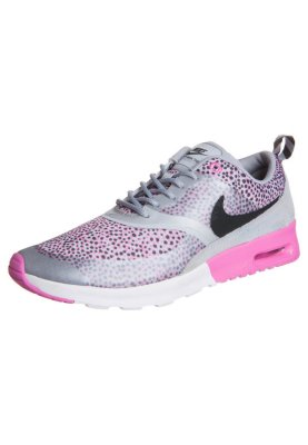 Nike AIR MAX THEA LAW Sneaker wolf greyanthracitevioletwhite